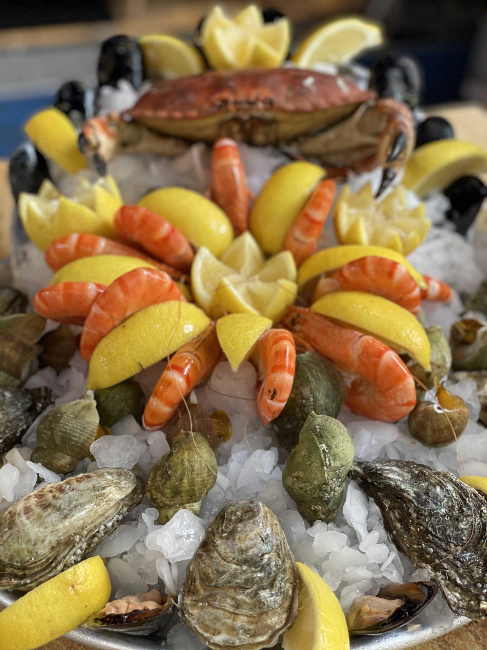 plateau de fruits de mer - Iode - Lyon- restarant de poisson(1)